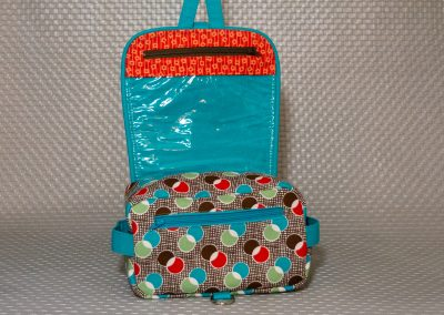 Andrie Designs - Hang About Toiletry Bag  - Mid Century 2